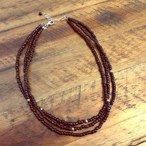 Silpada Black Bead Necklace